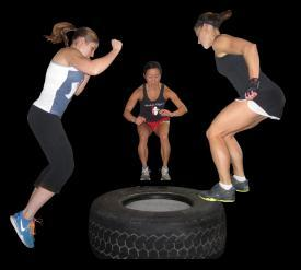 STAGE 4: MEDIUM-INTENSITY PLYOMETRICS 2 BOX JUMPS Competent at stages 1 3 and entered