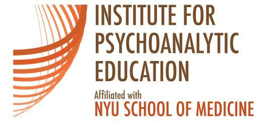 APPLICATION FOR PSYCHODYNAMIC PSYCHOTHERAPY TRAINING (rev. 7/5/12) PERSONAL INFORMATION P: 646-754-4870 nyupi@nyumc.