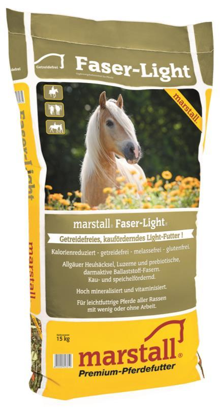 marstall Faser-Light the grain-free, pre-biotic light feed!