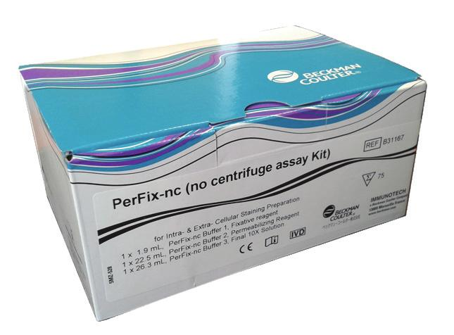STREAMLINE YOUR WORKFLOW WITH DuraClone IF In the DuraClone IF kits every assay tube contains a layer with the dried-down antibody panel.