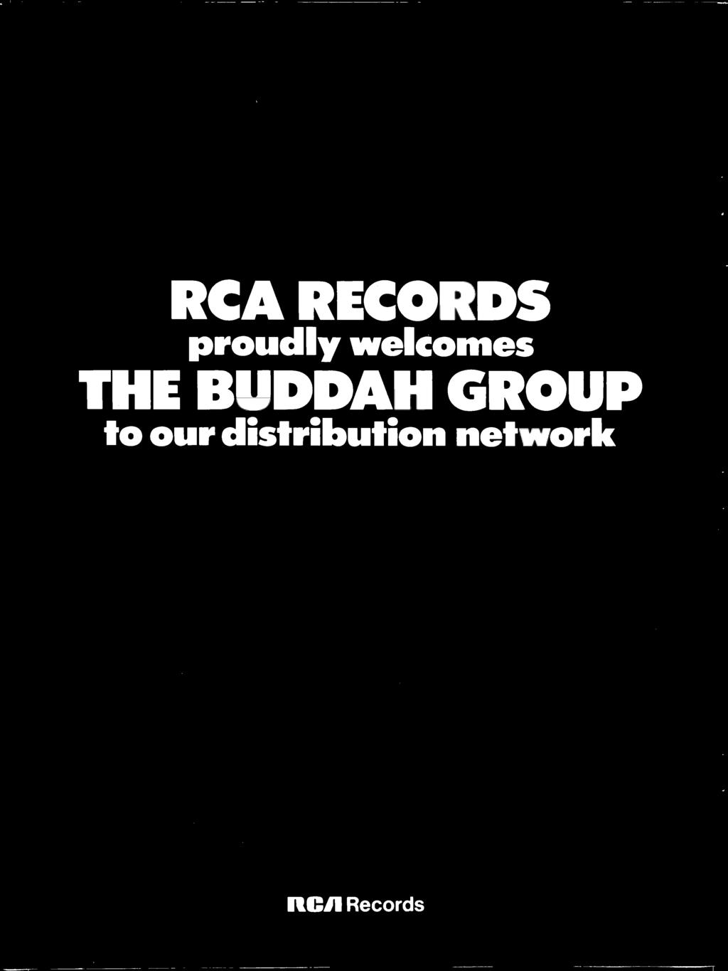 welcomes THE BUDDAH GROUP to