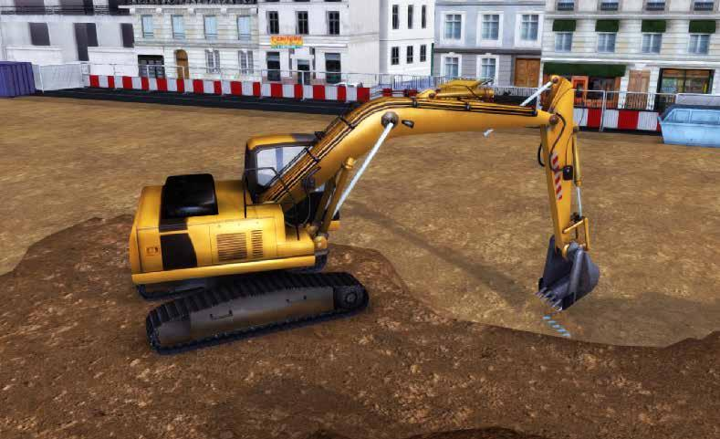 LEARNING MODULES The excavator learning program is made up of 24 modules : MODULE 0 OUTSIDE VIEW Objective :