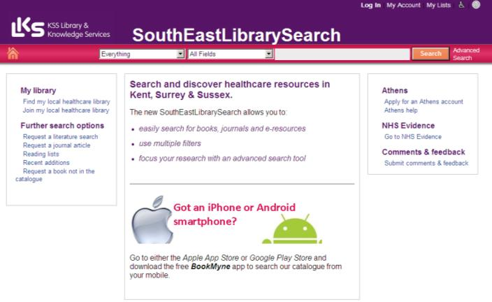 Find which journals you have access to through the Library Catalogue or Mys: Library Catalogue To search for a specific title, go to the regional library catalogue at http://www.