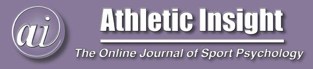 August, 2002 Volume 4, Issue 2 Self-Efficacy And Psychological Skills During The Amputee Soccer World Cup James Lowther Wimbledon Football Club Selhurst Park Stadium and Andrew Lane & Helen Lane