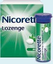 D-Nicotine Lozenges (2 and 4 mg): Lozenges may be preferred by those who do not like or have difficulty chewing gum, such as denture wearers.