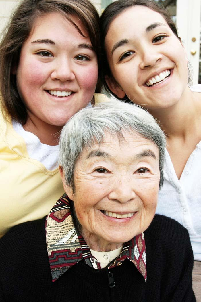 Care Giving It is estimated that 80% of all care received by older Americans is provided by family members. The average length of care giving is 4.3 years.