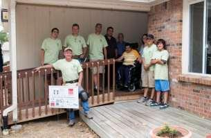About the Home Builders Foundation: The mission of the Home Builders Foundation is to provide accessibility solutions and home modifications for individuals with disabilities and financial need