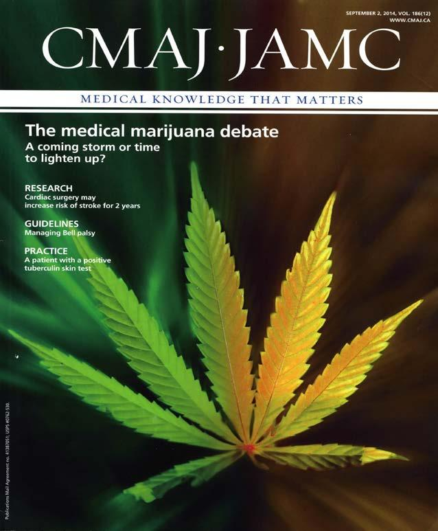 The Canadian Medical Association has consistently opposed Health Canada s approach which places physicians in the role of gatekeeper in authorizing access to marijuana.