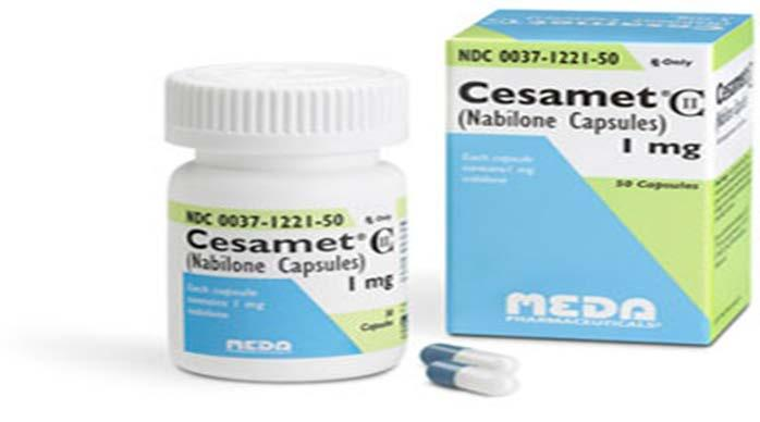 Nabilone (Cesamet) Indicated for chemotherapy induced nausea and