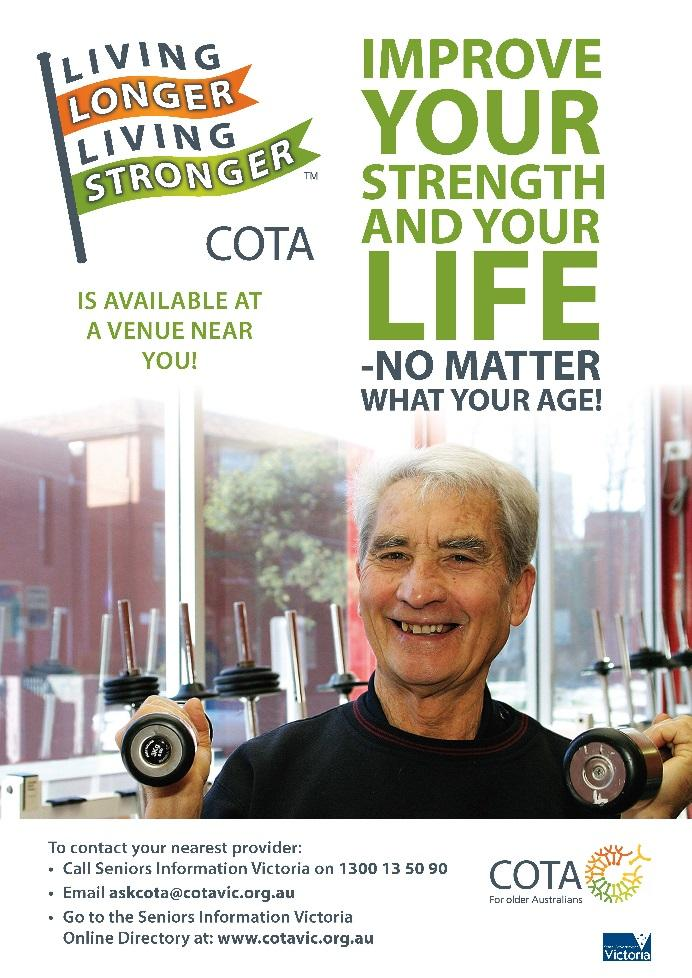 Cochrane Review - Strength and Function Background: resistance training improves muscle strength in older people ( large component is neuromuscular based) But.