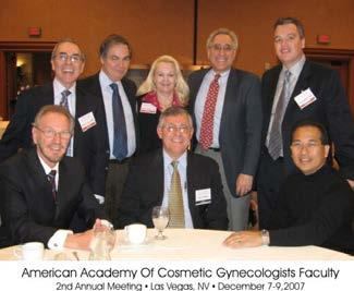 112 American Academy of Cosmetic Gynecologists Faculty