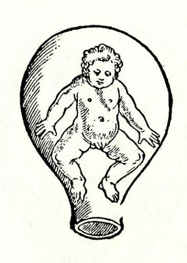 The breech natural presentations for childbirth, as illustrated, were alike for Wolveridge and Rueff but dissimilar to Roesslin s feet first version.