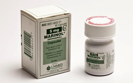 Dronabinol (Marinol) Synthetic THC Approved for HIV