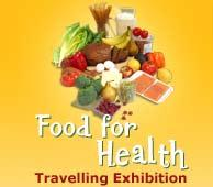 Food for Health will create an opportunity through interactive displays, presentation of the latest research findings, educational school programs, public