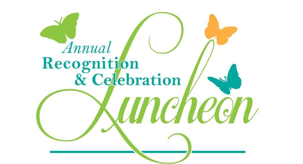 complementary tickets to luncheon Mention as a sponsor on 2,500 invitations* BRONZE SPONSOR - $1,500 Two (2) complimentary tickets to luncheon ALL SPONSORS RECEIVE: