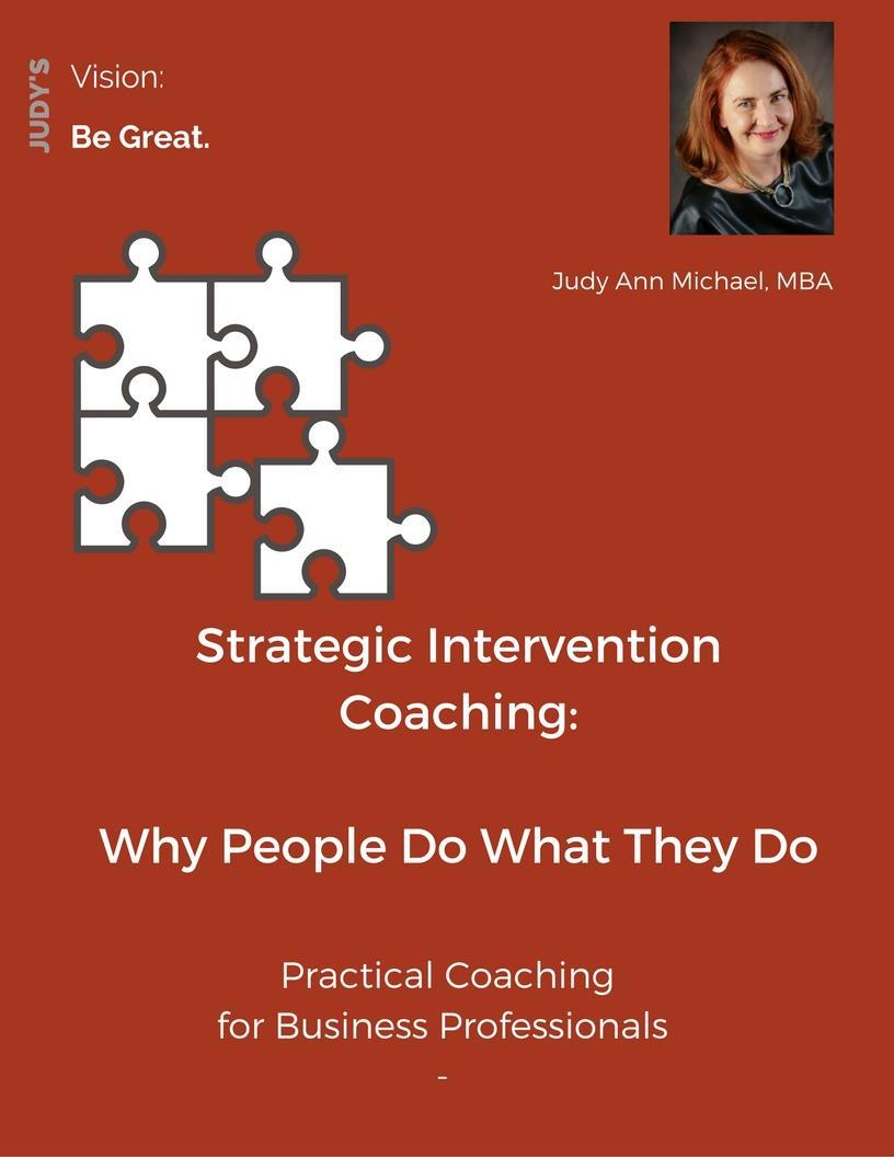 What is the Goal of Strategic Intervention Coaching?