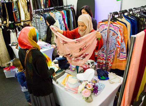 How the average Muslim consumer spends their money on general items 36% are