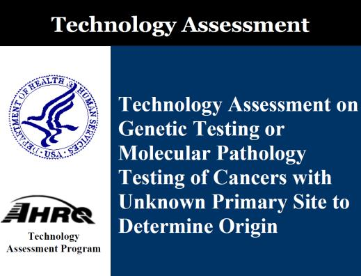 Technology Assessment on CUP Tests Clinical accuracy of all three tests is similar: 85-88%. Test accuracy in CUP cases is not easily determined, because actual TOO is not identified in most cases.