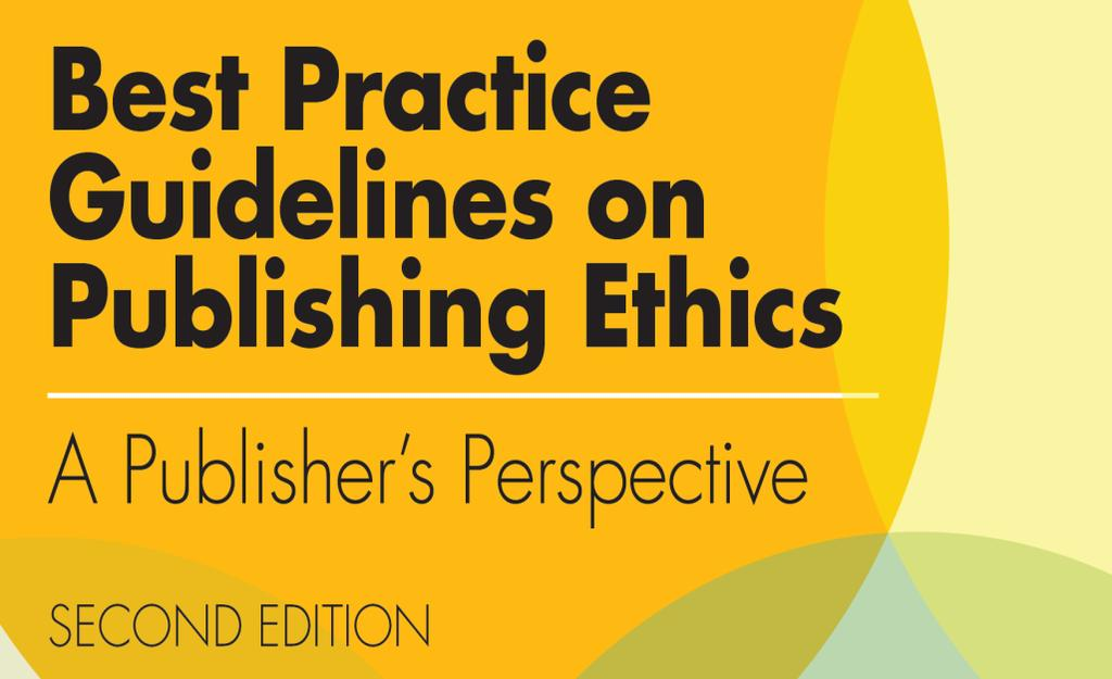 Wiley Publication Ethics Guidelines Published in 2014, updating the 2006 first edition.