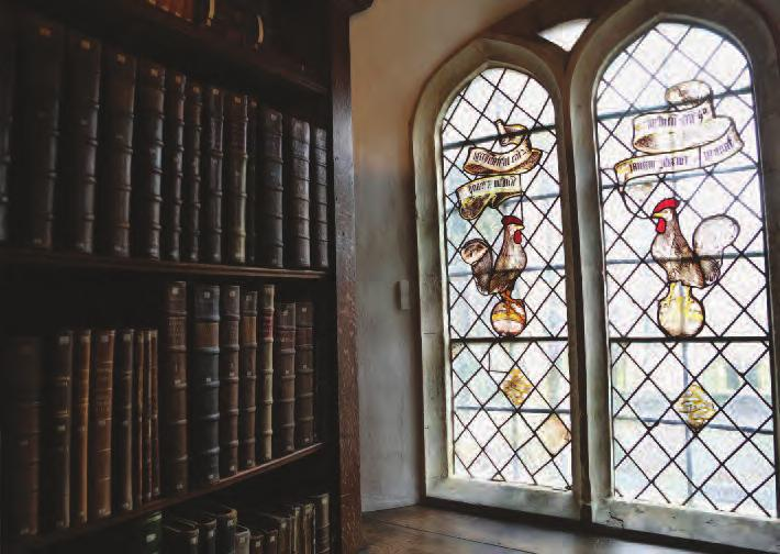college news I Jesus College Annual Report 2017 65 the libraries and archives stephen heath, Keeper of the old library robert athol, college archivist rhona Watson, Quincentenary librarian The Old