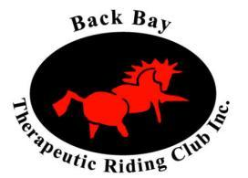Back Bay Therapeutic Riding Club Inc. 20262 Cypress Ave.
