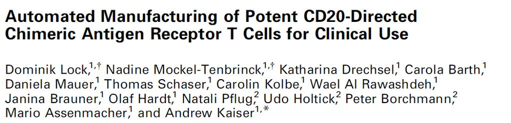 Robust manufacturing of polyfunctional gene-engineered T cells: In vivo mouse model 8th