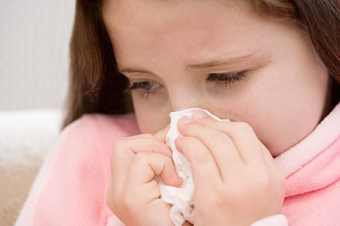 Some symptoms of the flu include: Chills Fever Headache