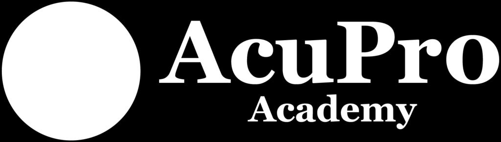 and AcuPro Academy make no warranties nor express or implied representations whatsoever regarding the accuracy, completeness, timeliness, comparative or controversial nature, or usefulness of any
