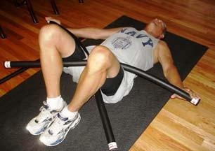 Ultimate Abdominal and Oblique Muscle Strengthening (continued from previous slide) Photo C shows an enhanced movement.