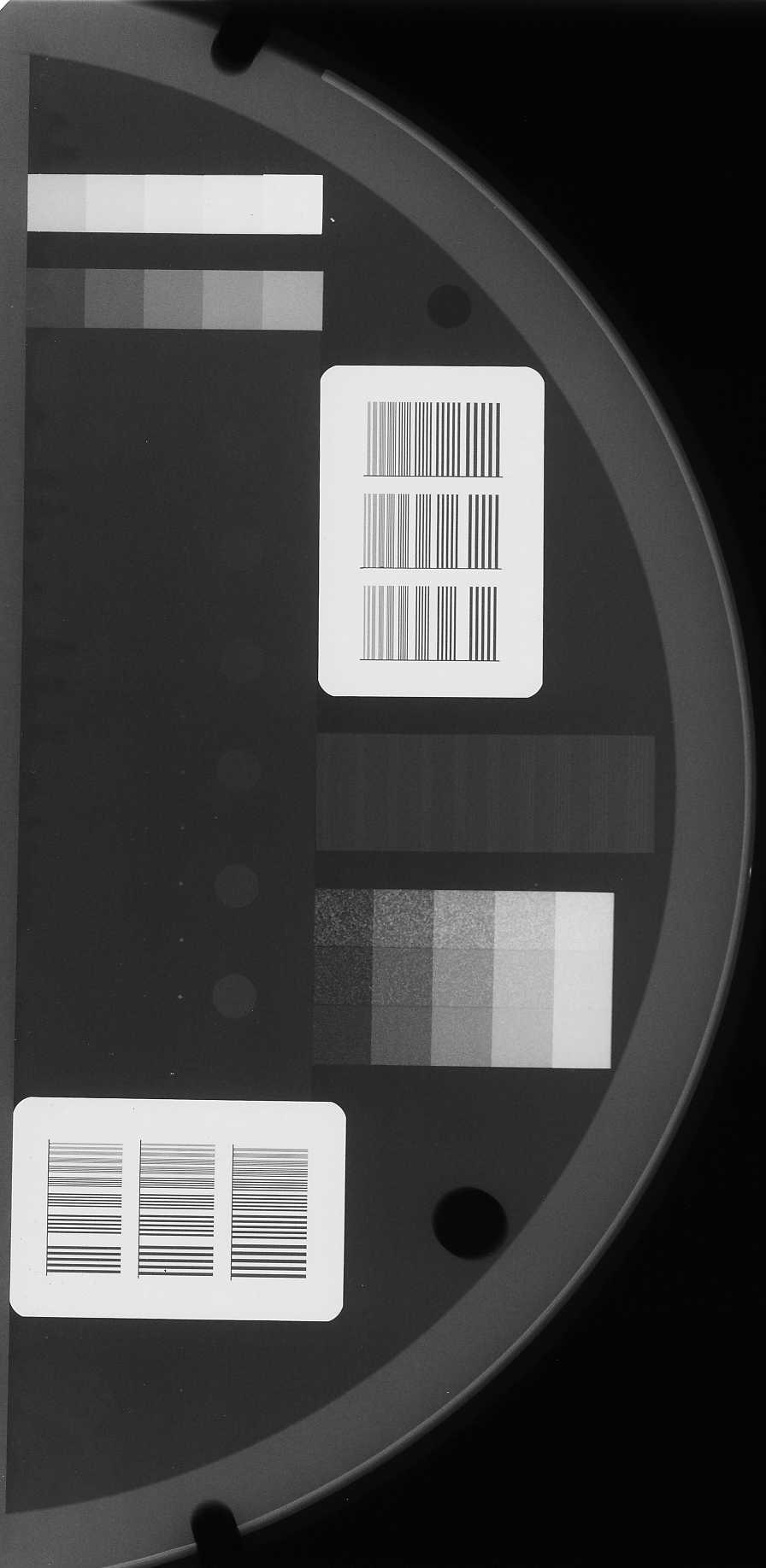 Assessment of AGD in UAE Hospital 153 Image 3. this image reflect the image that we got from the phantom after exposure. 2.
