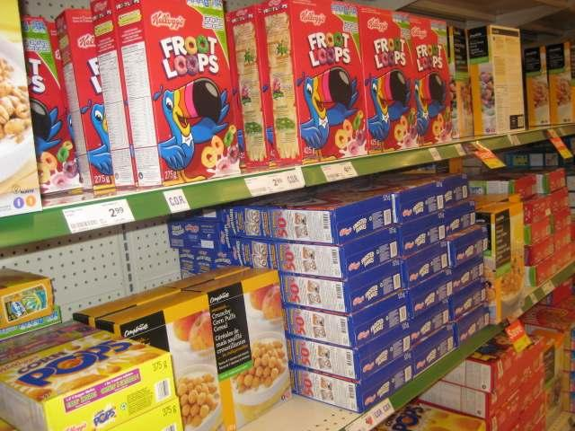 Aisle 1-1 Cereal, Rice and Pasta When choosing dry cereals, keep it simple!