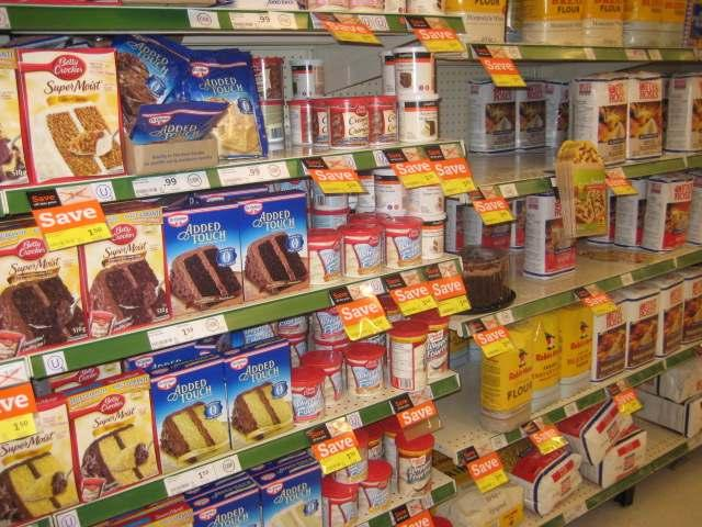 Aisle 4 Baking Needs There are many ways you to cut the fat in your baking.