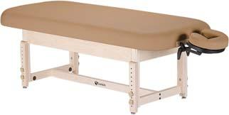 Width: 28, 30, 32 Length: 73 Standard Adjustable Height Range: 23-33 Max. Working Weight: 1000 lbs.