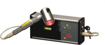 LASER/LIGHT THERAPY (CON T) Therapeutic Modalities Apollo Portable Laser LCD display that provides probe status and treatment times.