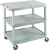 Width Depth Height 022056 22 16 30 With Drawer 022057 22 16 30 General Purpose Cart Constructed of