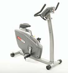 Exercise Equipment UPRIGHT BIKES SciFit ISO1000-INT Bikes Step-through access allows entry without lifting the leg over center support.