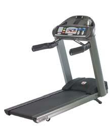 Exercise Equipment TREADMILLS (CON T) Landice L780 Club Series Treadmill Usage is greater than 5 hours per day Features the high-tech entertainment console Modern look including a fan and a powerful