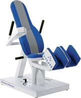 Includes lock mechanism, easy access handgrips, adjustable back support and isometric testing.