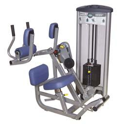 NAUTILUS NOVA EQUIPMENT Exercise Equipment Combination Abdominal/Low Back Optimal Strength Curve Technology uniquely provides individual resistance profiles for each movement pattern for proper