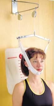 081950 Cervical System Economy Overdoor Cervical Traction Kit 053111 Overdoor Cervical Traction Kit Saunders Cervical Hometrac Features moveable and adjustable neck pieces,