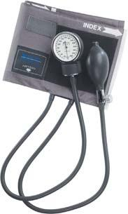 SPHYGMOMANOMETERS Legacy Aneroid Sphygmomanometer The entire unit stores in a zippered carrying case for easy portability.