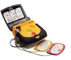 EMERGENCY Zoll AED Plus AED Plus Defibrillator with Professional Cover, (1) CPR-D Padz, (1) Sleeve of Batteries, LCD Screen (displays voice prompts & device advisory messages, elapse time, shock
