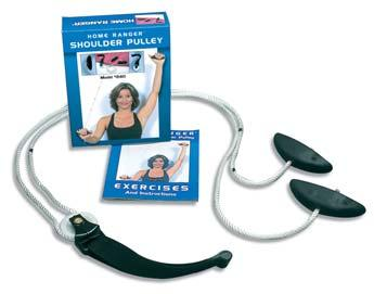 SHOULDER EXERCISE DEVICES The Original Home Ranger Low cost, simple-to-use device. Helps increase and maintain range of motion in all planes of shoulder motion.