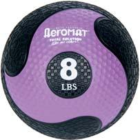 Clinical Supplies MEDICINE BALLS AND RACKS Aeromat Deluxe Medicine Balls Textured for better grip and handling. Well balanced, maintains round shape. Exceptionally durable. Synthetic rubber surface.
