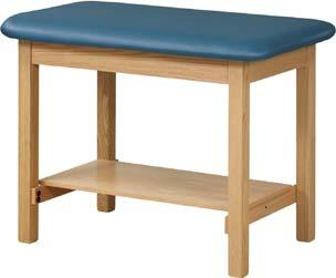 SPORTS TRAINING TABLES Taping Tables Heavy duty taping table with solid oak legs and H-braces.