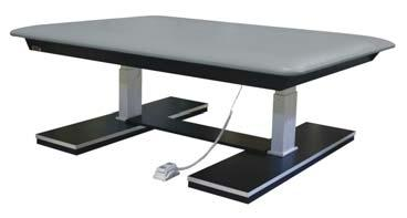 010855 4 X 7 Electric Mat Table 010856 5 X 7 Electric Mat Table 010857 6 x 8 Electric Mat Table 010855 Weight Capacity 1,000 lbs.