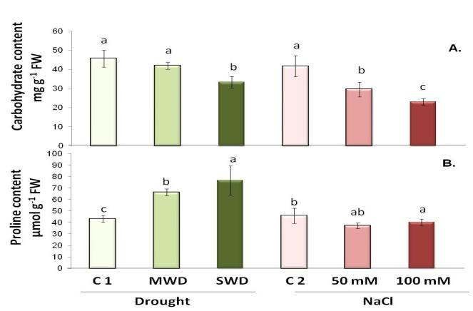 194 Natural Product Communications Vol. 12 (2) 2017 Sarrou et al. stomatal closure, which in our study was manifested by reduced leaf transpiration and photosynthetic rate.