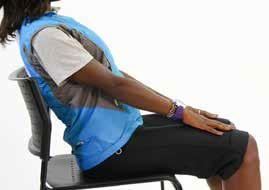 8A) Seated Forward Curl (stomach muscles) Equipment: Chair Step 1: Sit towards the middle or front of a chair and lean back so you are in a halfreclining position (do not touch the back of the