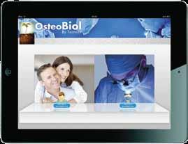 OsteoBiol biomaterials Over 40 abstracts of international scientific