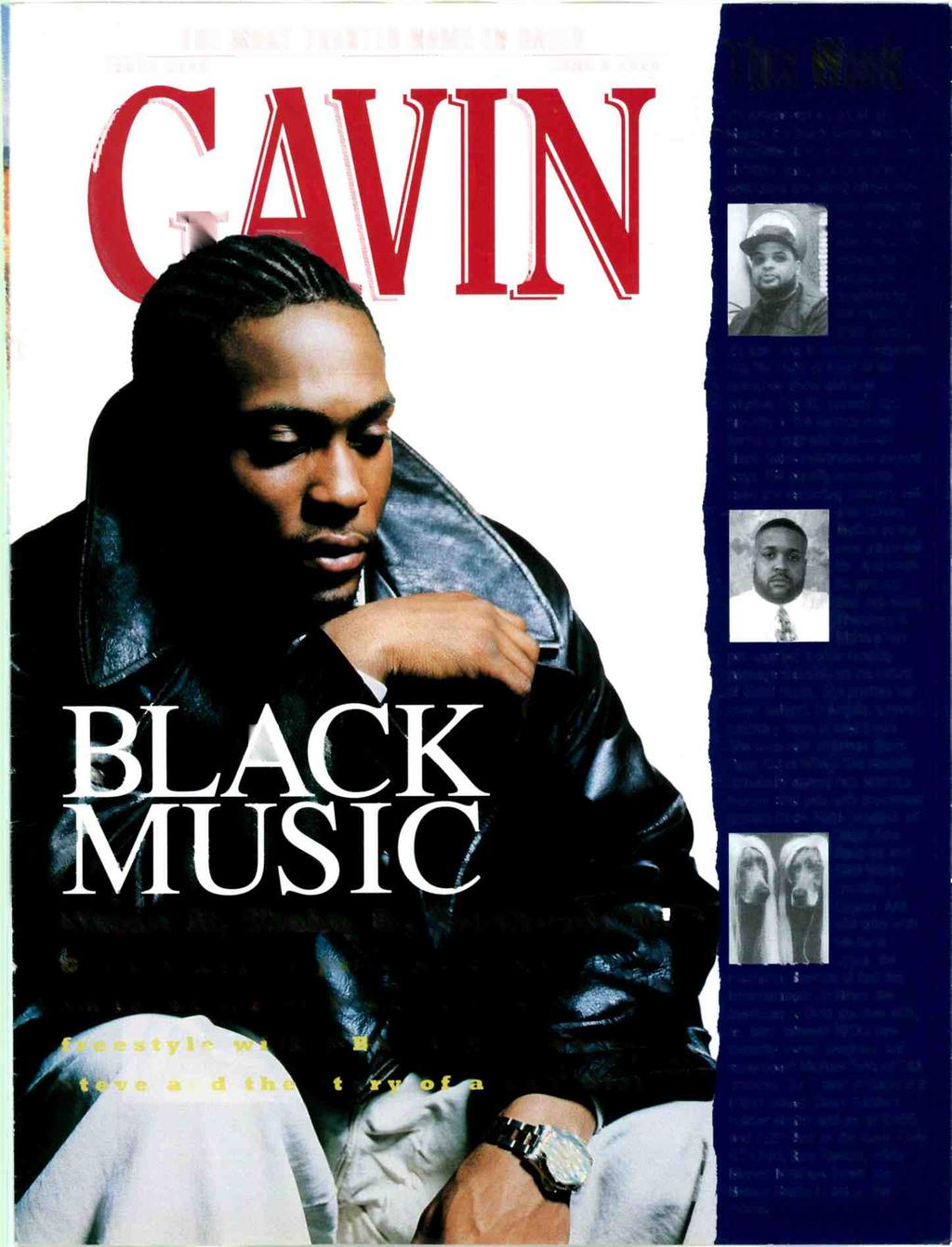 THE MOST TRUSTED NAME IN RADIO ISSUE 258 JUNE 9 1995 This Week It's African -American Music Month. It's 3Iack Music Month. Whichever t is, it's cause for celexation.